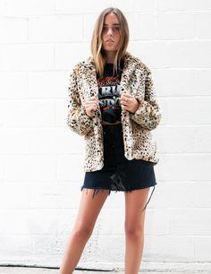Harper Leopard Coat