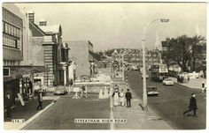 Streatham High Road High Road, Croydon, Old London, Old Photos, Nostalgia, The Past, Street View, Memories, History