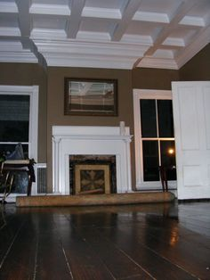 Common Style Of Crown Molding Installed In New Homes All Around - Cornice crown moulding toronto wainscoting coffered ceiling