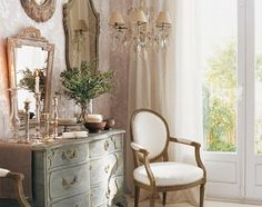 """100% my taste!  As the famous French Country designer once said """"I loved french country before I knew it was french country""""--Charles Faudree. (me, too, Charles!)"""