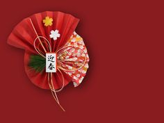 """The """"what, when and why"""" of a traditional New Year celebration in Japan. - The Home Decor Trends Chinese New Year Flower, Chinese New Year Design, Japanese New Year, Chinese New Year Decorations, New Years Decorations, New Year Diy, Asian Cards, Japan Crafts, Chinese New Year Crafts"""