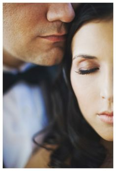 Wedding Photography  Up close and pretty would be cute as a beginning to couples session