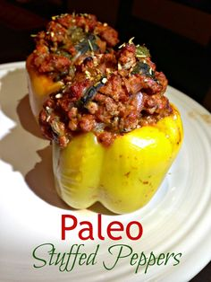 Broke and Bougie: Paleo Meal Plan for the Week + Paleo Italian Stuffed Peppers