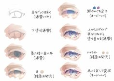Eye Drawing Tutorials, Digital Painting Tutorials, Digital Art Tutorial, Art Tutorials, Drawing Skills, Drawing Tips, Watercolor Portrait Tutorial, Digital Art Beginner, Anime Faces Expressions
