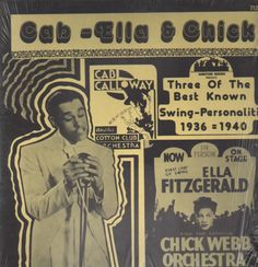 Cab-ella & chick by Cab Calloway, Ella Fitzgerald & Chick Webb, LP with recordsale - Ref:3033501699