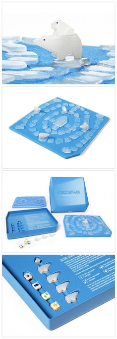 Meltdown - global warming board game using real ice that melts http://meltdown-game.com/