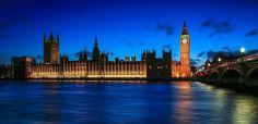 18:55 by J  T on 500px Big Ben, 18th, Explore, Night, Castles, Building, Travel, London, Viajes