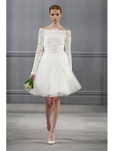 Kort, kort, kort: bruidsjurken voor blote benen / Trouwjurken / Wedding   ELLE Mobiel