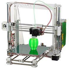 0.3mm Nozzle 1.75mm Material Heacent Reprap Prusa i3 3D Printer DIY Assembly Kit #deals