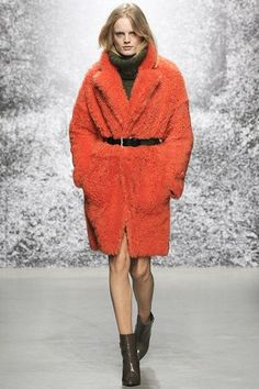 Autumn/winter 2014 trend - Counting sheep: shrug-on shearlings and sheepskins