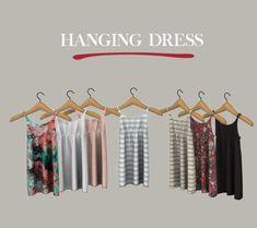 Hanging Dress at Leo Sims • Sims 4 Updates