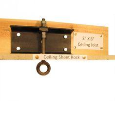 aa58b8c755d 2 x 6 Ceiling Beam Swing Suspension Kit