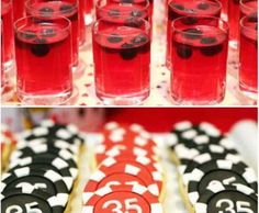 Get some dice jello and pocket chip cookies for your cards based diwali party at home | Diwali party food ideas | Curated by Witty vows