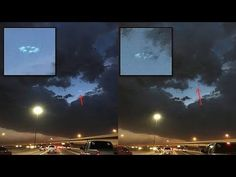 Strange Circle of Lights emerges from Storm Clouds over Phoenix, Arizona