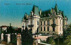 Craiova, Palatul Dinu Mihail anii '20 Barcelona Cathedral, Europe, Culture, Country, Building, Travel, Beauty, Romania, Countries