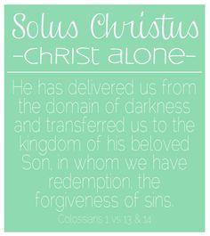 Reformation Day {solus christus}
