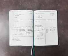 Для работы Weekly log from The Illustrated Bullet Journal of Sarah from