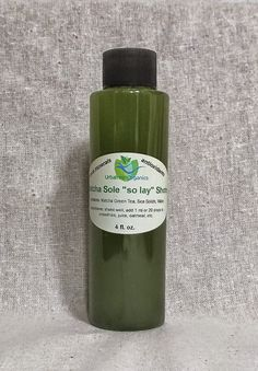 By combining our supersatured sea solid sole (so lay) solution with matcha green tea powder we have created a wonderful way to get your daily