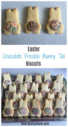 Easter Chocolate Bunny Tail Biscuits for an Easter party gifts non chocolate Easter Chocolate Freckle Bunny Tail Biscuits Easter Cookies, Easter Treats, Easter Food, Easter Baking Ideas, Easter Pie, Easter Snacks, Easter Brunch, Easter Party, Easter 2018
