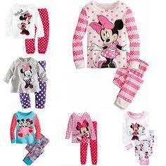 2016 Minnie Cartoon Mouse Baby Toddlers Kids Girls Polka Dots Stripe Nightwear Pajamas Set Sleepwear Homewear Clothing Suit 1-8Y♦️ SMS - F A S H I O N 💢👉🏿 http://www.sms.hr/products/2016-minnie-cartoon-mouse-baby-toddlers-kids-girls-polka-dots-stripe-nightwear-pajamas-set-sleepwear-homewear-clothing-suit-1-8y/ US $5.49