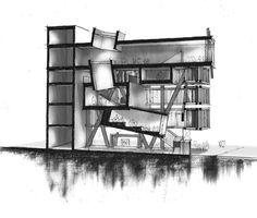 longitudinal section perspectivve - Nicholas DeBruyne