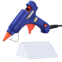 Hot Glue Gun Atmoko Mini Glue Gun Kit with Glue Sticks High Temperature Melting Glue Gun for DIY Small Projects Arts and Crafts Home Quick RepairsArtistic Watts Blue) Small Sewing Projects, Arts And Crafts Projects, Arts And Crafts Supplies, Hobbies And Crafts, Valentines Decoration, Tabletop Ironing Board, Ks Tools, Craft Sites, Stick Art