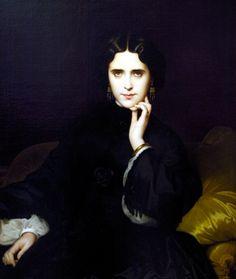 Madame de Loynes, by Amaury-Duval