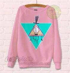 Gravity Falls Bill Cipher Pink Unisex Sweatshirts //Price: $28.75 //     #Tshirt