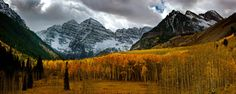 Fall colors at the Maroon Bells - #tmophoto landscape and night photography by Thomas OBrien