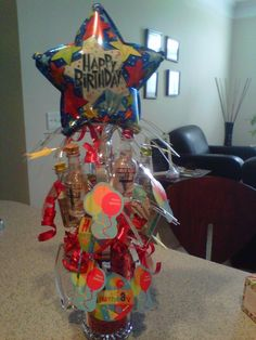 Liquor Bouquet Great Gift Idea For Someone S 21st Birthday College Pinterest Liquor