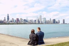 Highlights :: Anna   Luke's Engagement Shoot at Museum Campus in Chicago, IL :: with Isaac