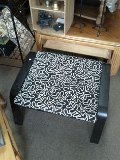 Gently used IKEA footstool - http://get.sm/mLKDz0z #tradebank Furniture,Knoxville TN