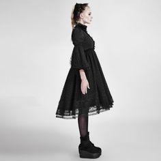 Gothic Lolita Kleid Punk Rave Victorian Steampunk Dress Nugoth Vintage WGT LQ076 in Kleidung & Accessoires, Damenmode, Kleider | eBay