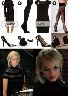 Naomi Lapaglia's/Margot Robbie Outfits Inspiration: Wolf of Wall Street http://www.pixelxo.com/?p=1103