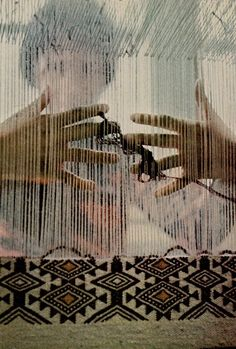 ahh, i miss weaving so, so much. {ntl. geo.//circa 1970s.}