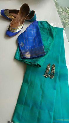 I am not lover of sarees.I look better in saree that is my opinion I am not lover of sarees.I look Sari Blouse Designs, Saree Blouse Patterns, Saree Jackets, Indian Silk Sarees, Saree Trends, Stylish Sarees, Saree Look, Elegant Saree, Fancy Sarees