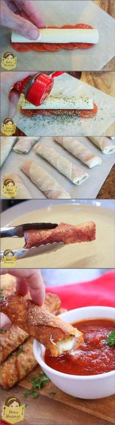 How to make Pizza Sticks...