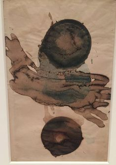 Stones to Stains: Victor Hugo's romantic drawings at the Hammer Museum — CultureZohn Victor Hugo, Alberto Burri, Romantic Drawing, Dark Ink, Drawing Practice, Les Miserables, Art Images, Art Museum, Abstract Art
