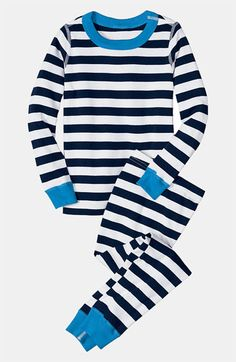 Hanna Andersson Two Piece Pajamas (Toddler) available at Nordstrom