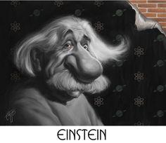 Albert Einstein (Caricature)