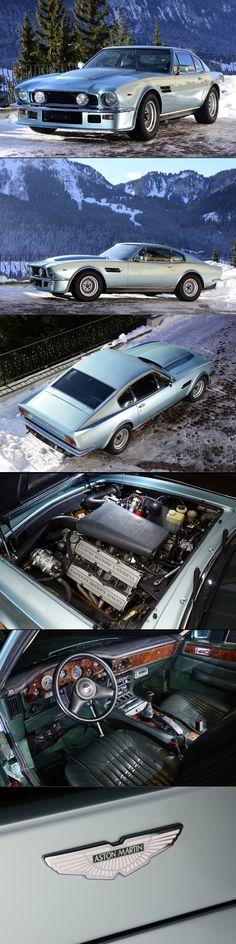 1986 Aston Martin V8 Vantage X-pack / UK / silver / 400hp+ / 137 produced / V580X / s/n 12515 / Porsche Crystal Green Metallic