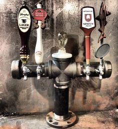 Sweet looking tap set-up