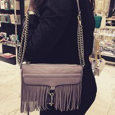 Rebecca Minkoff 'Fringe Mini MAC' Convertible Crossbody Bag (Nordstrom Exclusive) | Nordstrom