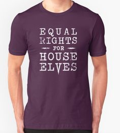 Rights for Elves T-Shirt, £17