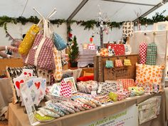 My stall at the Cheltenham Connect Christmas Craft Fayre.
