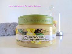 Mon avis sur l'exfoliant corps sensuel au sucre Vanille Bourbon Yves Rocher