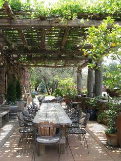 pour le plus beau jardin opter pour cette variante pour savoir comment aménager sa terrasse: