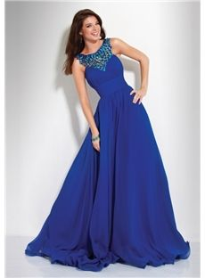 Favorite colour... modest AND gorgeous for prom or the like.