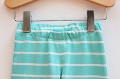 Girl's Leggings Pattern No.8 - For Free! Free capri leggings sewing pattern pdf  Sizes 2 to 10