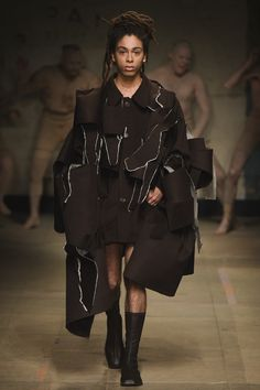 MAN Fall 2017 Menswear collection _ Charles Jeffrey _ Loverboy _ Ripped _ Raw Edges